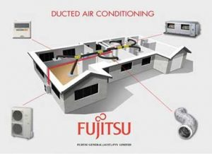 Ducted Air conditioning Fujitsu - Globalrez